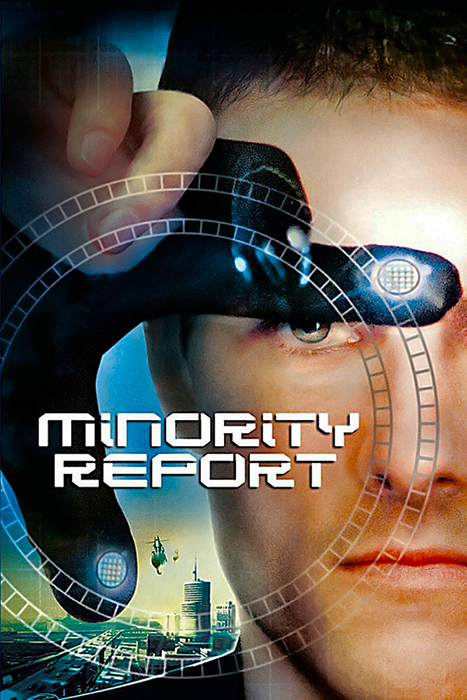 Poster Minority Report 2002