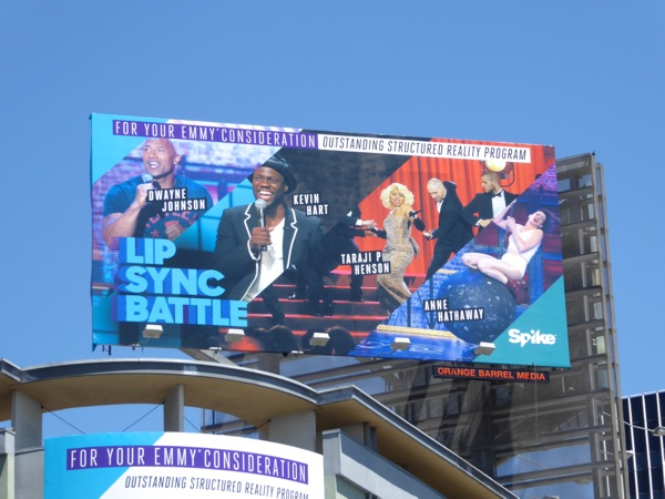 Lip Sync Battle season 2 Emmy nomination billboard