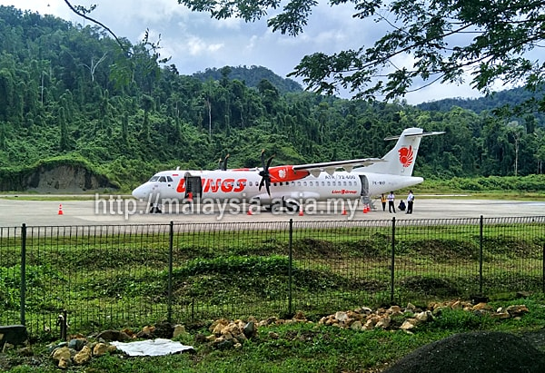 Airline that flies to Raja Ampat