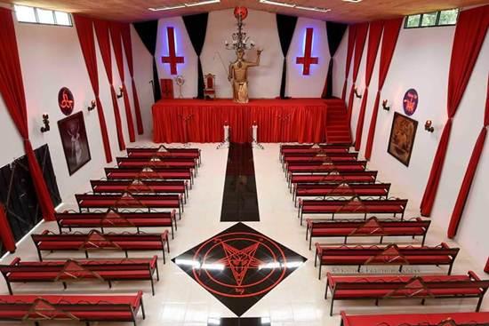 Tempat Ibadah Penyembah Setan