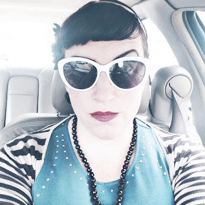 One Dollar Bargain Pin Up Style Cheap Sunglasses from Dollar Tree