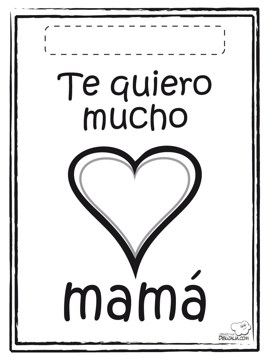 Dibujos para colorear del dia de las madres 2018 | Imagenes para las ...