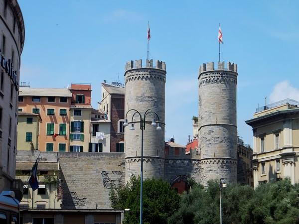 gênes genova porta soprana vieille ville