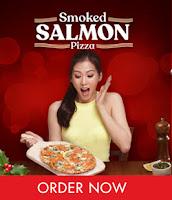 Shakey's Smoked Salmon Pizza