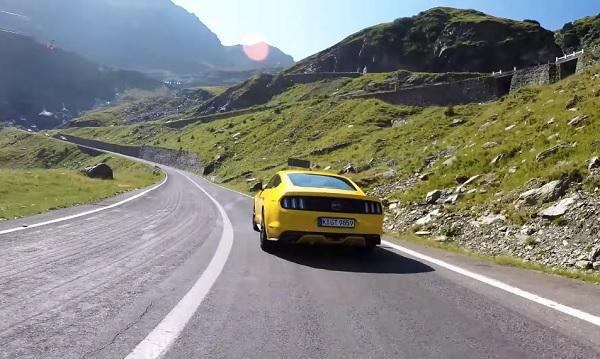 Ford Mustang muestra las mejores rutas europeas