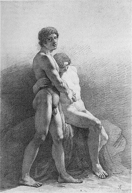 Julius Schnorr von Carolsfeld: Studio di nudo