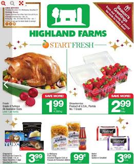 Highland Farms Flyer December 14 – 20, 2017