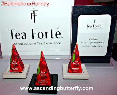 @teambabbleboxx #BabbleboxxHoliday @teaforte Holiday Flavors BabbleBoxx Holiday Party 2017