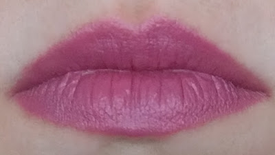 medium dusty rose lipstick