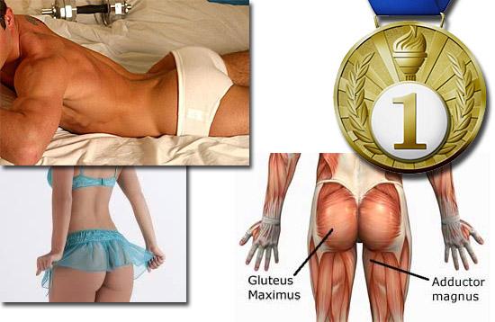 Quais são os músculos mais fortes do corpo humano - E qual é o mais fraco - Glúteo máximo, o músculo das nádegas