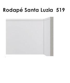 Rodapé Branco na Pompéia