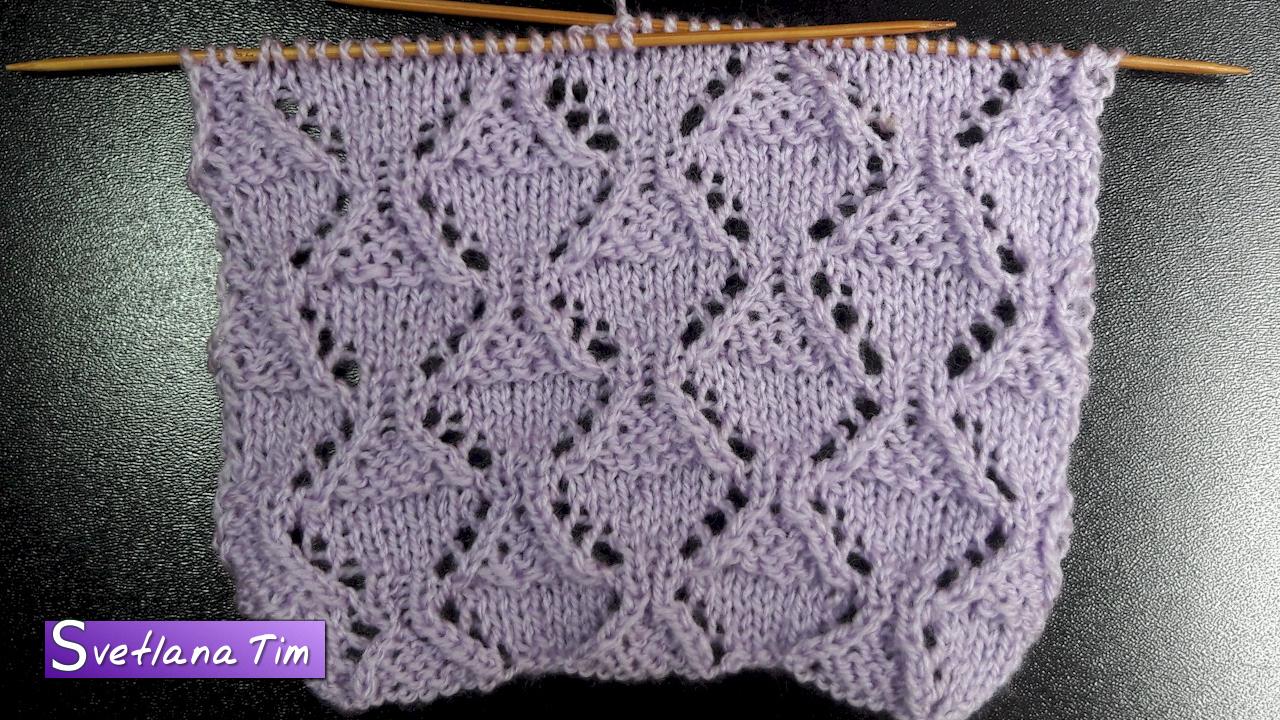 вязание ажурные вязки