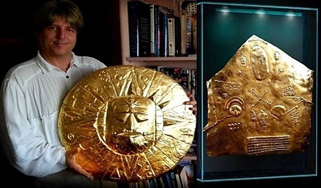 Ancient Golden Inca Star Map Remains A Mystery - Star map now