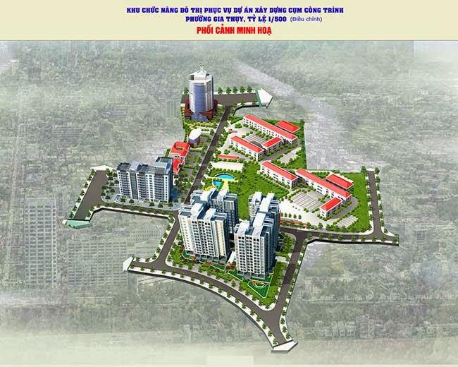 Phối cảnh tổng thể dự án chung cư Lotus Lake View