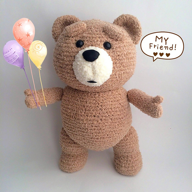 https://amigurumi.today/free-amigurumi-te... - Amigurumi only free |  Facebook | 640x640