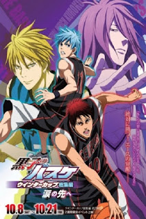detail dan nonton trailer anime Kuroko no Basket Movie 2: Winter Cup Soushuuhen - Namida no Saki e (2016)