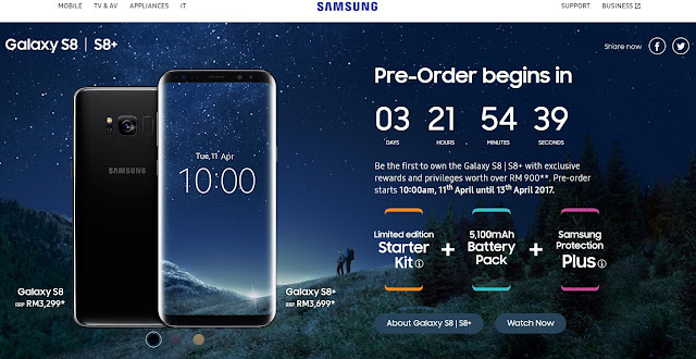 Samsung S8 dan S8+
