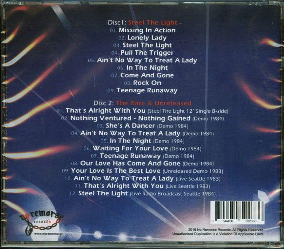 Q5 - Steel The Light [No Remorse Records remaster 2-CD] (2018) back