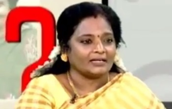 Katchigal Kelvigal: Tamilisai Soundararajan (BJP) 08-05-2016