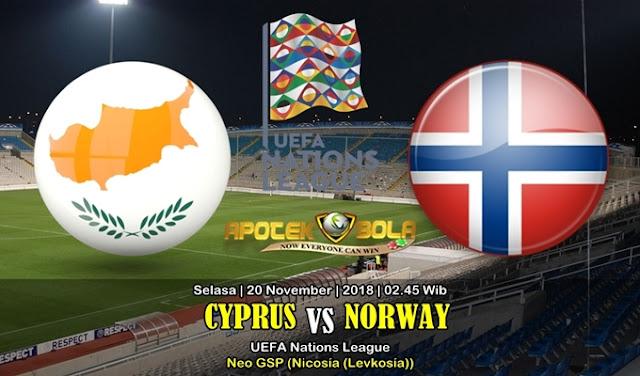 Prediksi Cyprus Vs Norway 20 November 2018