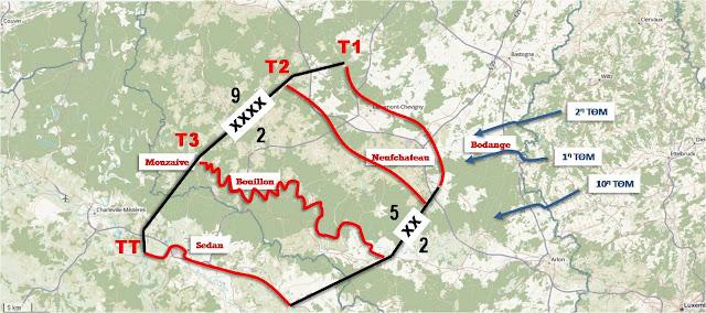 Το σχέδιο επιβράδυνσης της 5ης Μεραρχίας Ελαφρού Ιππικού