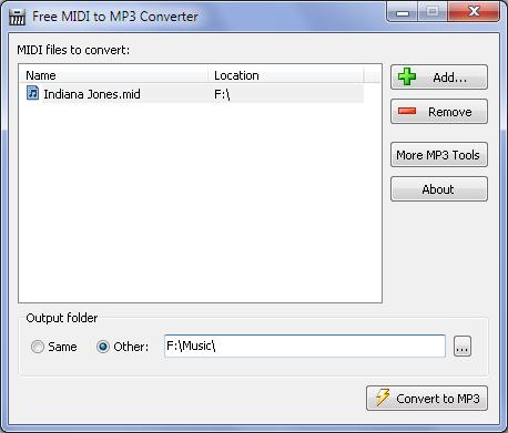 Free MIDI to MP3 Converter - Μετατρέψτε αρχεία MIDI σε MP3