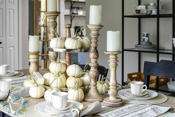 Thanksgiving Tablescape from The Weathered Fox