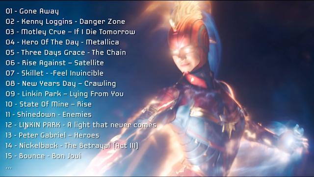 Trilha sonora completa do filme CAPITÃ MARVEL (Captain Marvel Sound Track Movie - Captain Marvel OST Full Album Official)