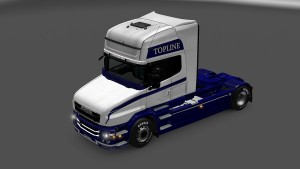 Scania T White Fury Skin