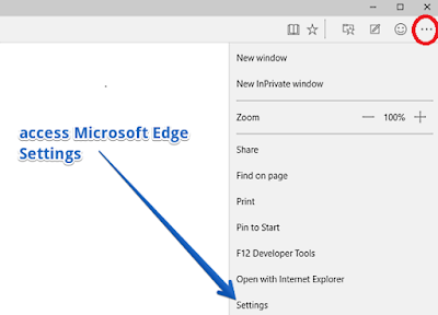 How to remove Microsoft edge browser news feed