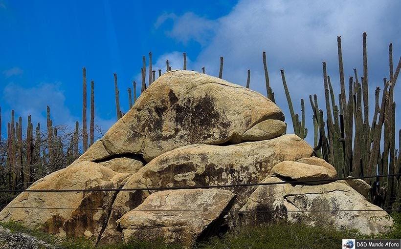 Casibari Rock: City tour em Aruba - Diário de Bordo: cruzeiro pelo Caribe