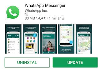 Update WhatsApp ke versi terbaru