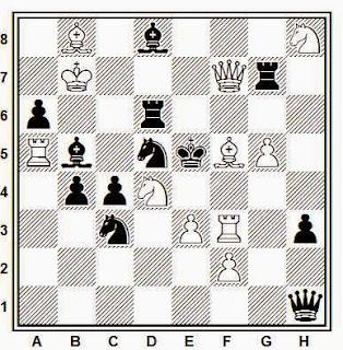 Problema de mate en 2 compuesto por Comins Mansfield (T.T. The Chess Correspondent, 1946)