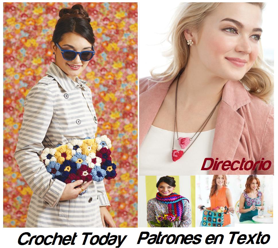 Patrones de Crochet en Texto