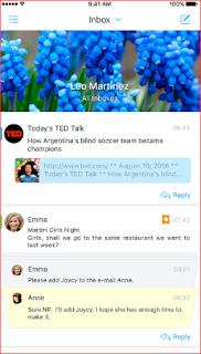 افضل تطبيق لأدارة البريد الألكتروني مجانا لوقت محدود لمستخدمي ايفون