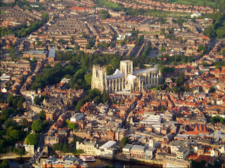 Ariel View York England Great Britain