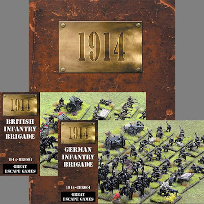 1914 - Battle of the Frontiers, Two Player Starter Set from Great Escape Games