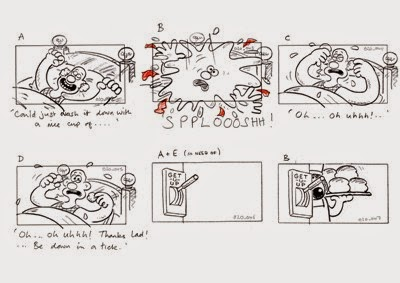 Studio Practice: Storyboard References: Wallace and Gromit