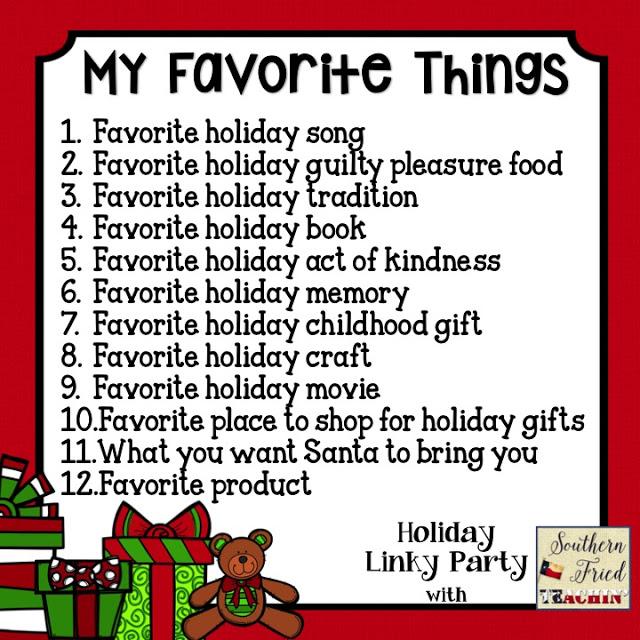 preschool ponderings my favorite holiday things