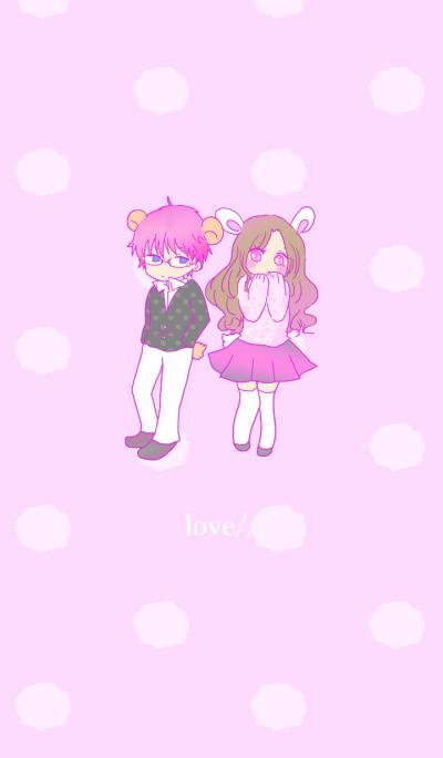 kawaii girl and boy
