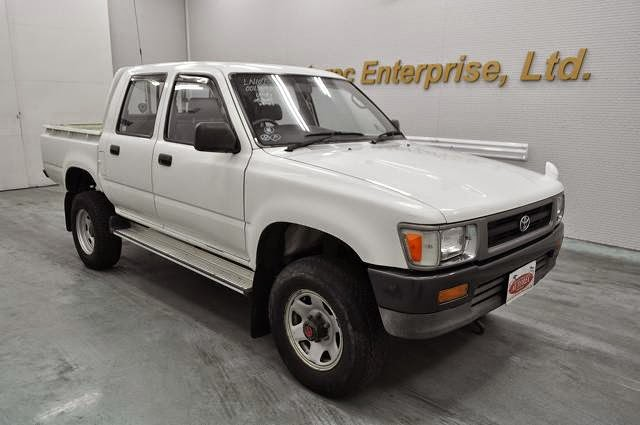 19691a4n6 1993 Toyota Hilux 0 5ton 4wd For Uganda To