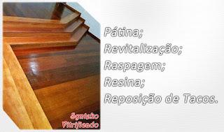 Revitaizar piso de madeira