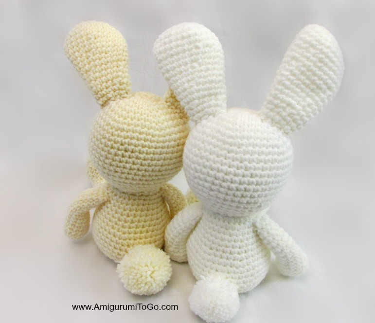 Dress Me Bunny Amigurumi To Go