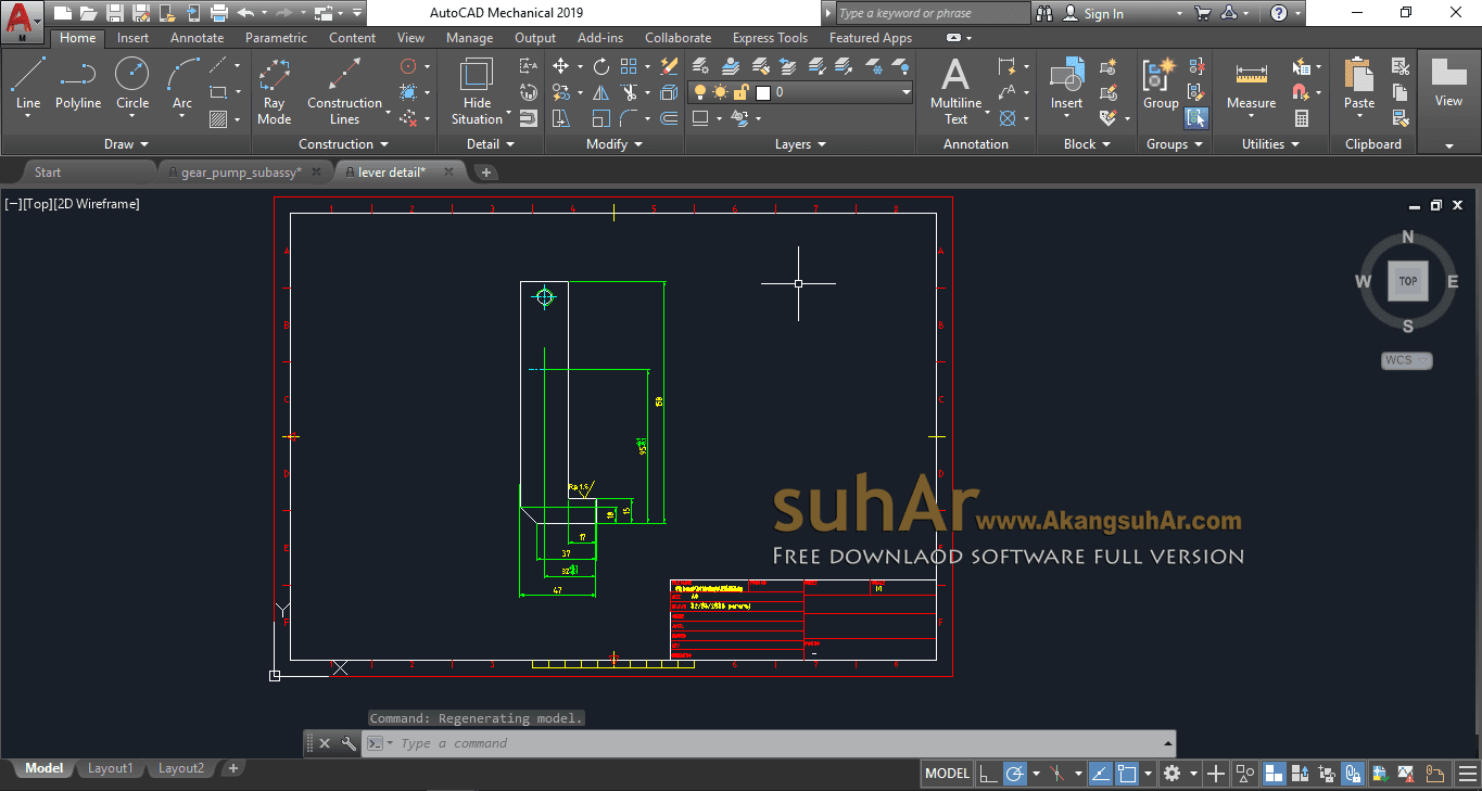 Free Download Autodesk AutoCAD Mechanical 2019 Full Version