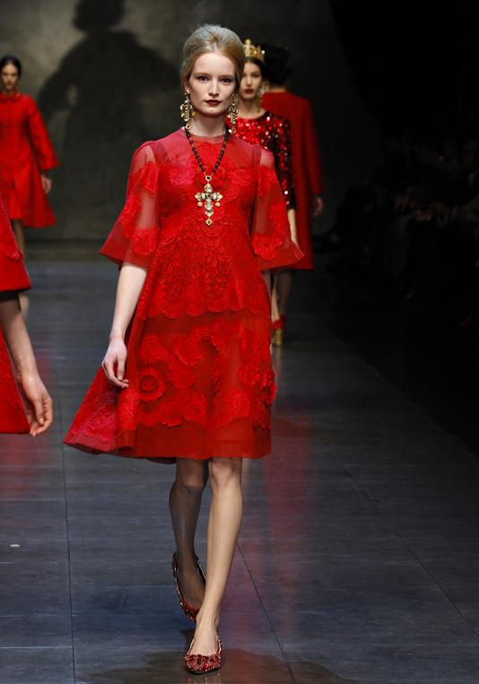 Dolce   Gabbana sfilata Autunno Inverno 2013-2014 bf93b878f83