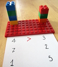 Matemática e LEGO