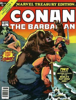 Marvel Treasury Edition #19, Conan the Barbarian
