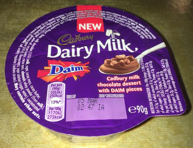 foodstuff finds new cadbury dairy milk daim dessert