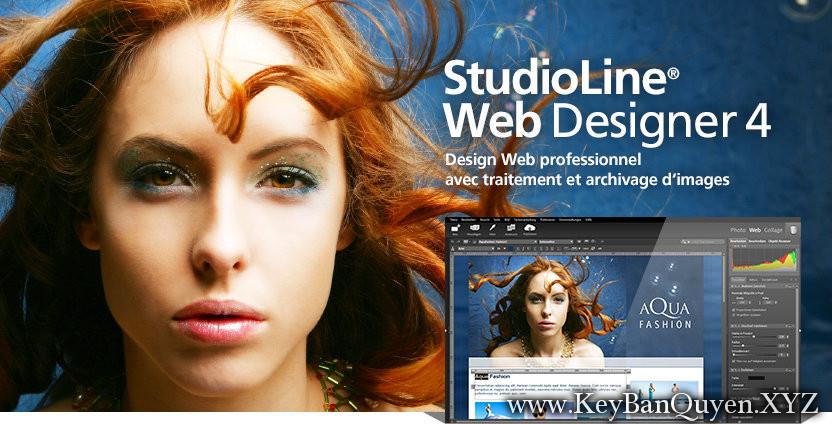StudioLine Web Designer 4.2.42 Multilingual Full Key, Phần mềm giúp bạn tạo Web thông minh.