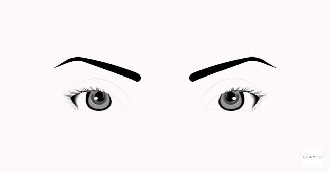 Fitur riasan mata berbentuk bulat yang dibuat agar memanjang